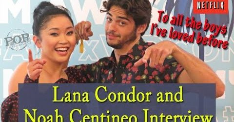 Lana Condor & Noah Centineo Interview for Netflix film To All The Boys I've Loved Before
