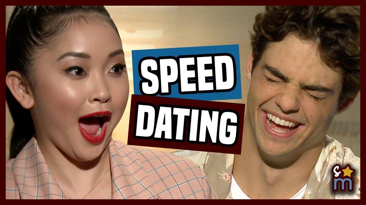 Speed Dating with Lana Condor & Noah Centineo
