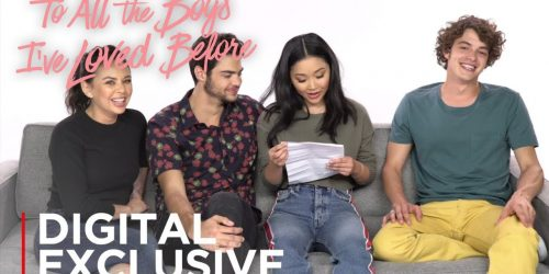 'To All the Boys I've Loved Before'  Cast Write Their Own Fan Fiction